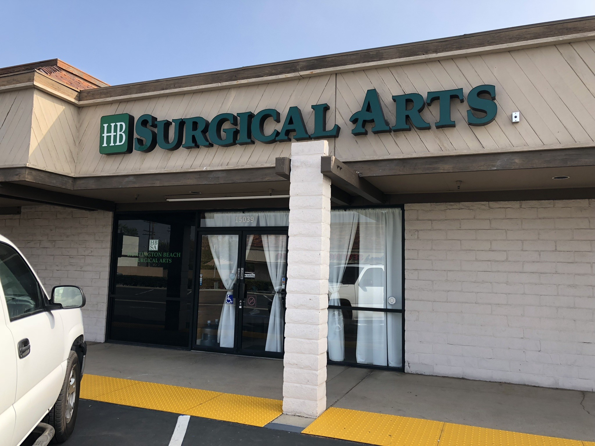 Outside Picture of HB Surgical Arts